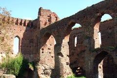 ruiny średniowieczne Zdjęcie Stock