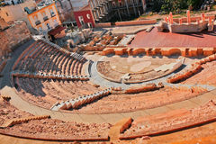 Ruiny rzymski amfiteatr fotografia royalty free