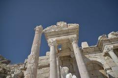 Ruiny Sagalossos, wygłupy miasto Zdjęcia Royalty Free