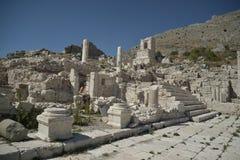 Ruiny Sagalossos, wygłupy miasto Obrazy Stock