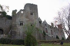 Ruiny siano na Wye fotografia stock