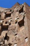 Ruiny skąpania Diocletian w muzeum narodowym Rzym Zdjęcia Royalty Free