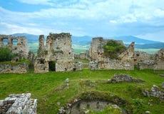 Ruiny Spisu kasztelu lub Spissky hrad () Sistani Obraz Royalty Free