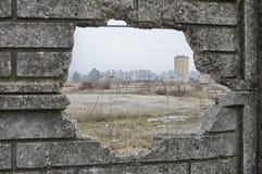 Ruiny stara fabryka Zdjęcia Stock