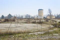 Ruiny stara fabryka Fotografia Royalty Free