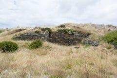 Ruiny Stara przylądka Jervis wielorybnictwa stacja, Fleurieu półwysep, W ten sposób obrazy royalty free