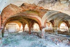 Ruiny stara stajenka Fotografia Royalty Free