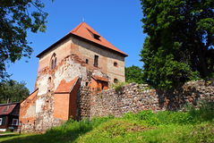 Ruiny stary forteca Zdjęcia Royalty Free