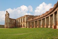 Ruiny stary pałac Zdjęcia Royalty Free