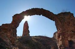 Ruiny stary pałac Zdjęcie Royalty Free