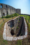 Ruiny stary scandinavian kasztel Fotografia Stock