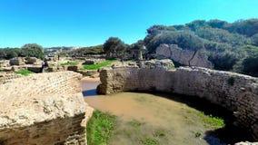 Ruiny Tipasa (Tipaza) Wygłupy miasto był colonia w Romańskich gubernialnych Mauretania Caesariensis loca zbiory
