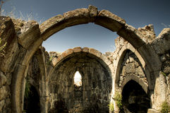 Ruiny Tsakhats Monaster Kar, Armenia Obraz Royalty Free