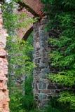Ruiny Tulmozersky żelaza huta Fotografia Royalty Free