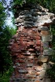 Ruiny Tulmozersky żelaza huta Fotografia Stock