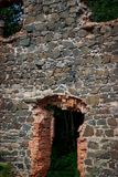 Ruiny Tulmozersky żelaza huta Zdjęcie Stock
