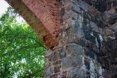 Ruiny Tulmozersky żelaza huta Zdjęcia Royalty Free