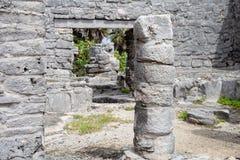 Ruiny Tulum, Jukatan, Meksyk - Obrazy Royalty Free