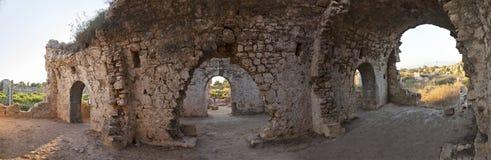 Ruiny w antycznej stronie Zdjęcia Stock