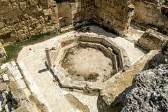 Ruiny w antycznym mieście salami w Famagusta Północny Cypr Fotografia Stock