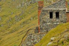 Ruiny w górach Zdjęcie Stock