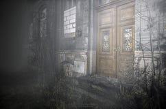Ruiny w mgle zdjęcia royalty free
