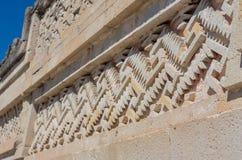 Ruiny w Mitla, Meksyk zdjęcia stock