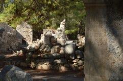 Ruiny w Phaselis Obraz Stock