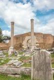 Ruiny w rzymskim forum obraz stock