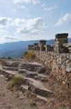 Ruiny w Siurana Obrazy Stock