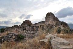 Ruiny w Siurana Zdjęcie Royalty Free