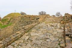 Ruiny w Troja Turcja obraz stock