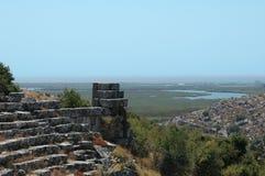 Ruiny w Włochy Zdjęcia Royalty Free