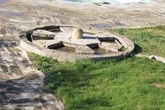 Ruiny w Weneckim schronieniu Chania, Crete, Grecja Zdjęcia Stock