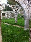 Ruiny w wiośnie Fotografia Royalty Free