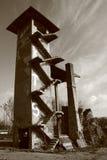 Ruiny wapna kiln Zdjęcia Stock