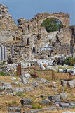 Ruiny wygłupy strona Zdjęcia Stock