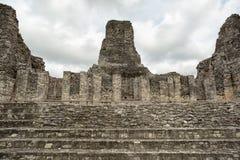 Ruiny Xpujil majowia archeologiczny miejsce w Meksyk zdjęcia royalty free
