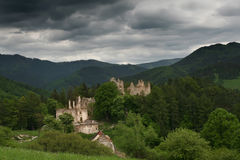 ruiny zamku Fotografia Stock