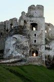 ruiny zamku Zdjęcie Stock