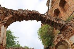 ruiny zamku Obrazy Stock