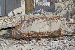 Ruiny zniszczony budynek obraz royalty free