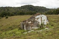 Ruiny zniszczony dom Fotografia Stock