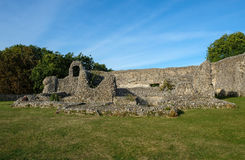 Ruis de Norman Castle chez Eynesford, Kent Photo stock