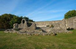 Ruis de Norman Castle en Eynesford, Kent Foto de archivo