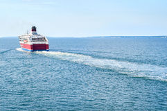 Сruise ferry Royalty Free Stock Photography