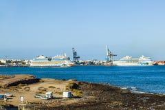 Ruisevoering van AIDA-vloot het liggen royalty-vrije stock fotografie