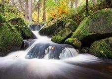 Ruisseau de Wyming, secteur maximal, R-U Photo stock