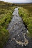 Ruisseau en vallées Yorkshire Angleterre de Yorkshire Photographie stock