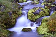 Ruisseau la nuit Photo libre de droits